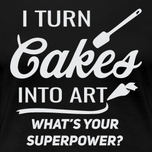 The art of baking - Women's Premium T-Shirt