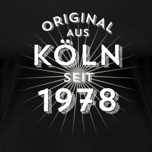 Original from Cologne since 1978 - Women's Premium T-Shirt