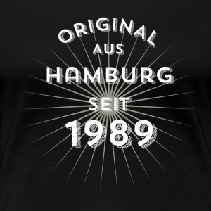 Original from Hamburg since 1989 - Women's Premium T-Shirt