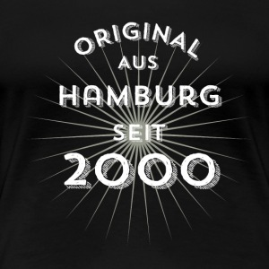 Original from Hamburg since 2000 - Women's Premium T-Shirt