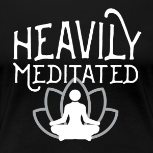 Meditating / Yoga T-Shirt - Women's Premium T-Shirt
