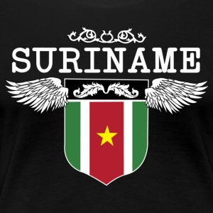 Suriname Wings - Vrouwen Premium T-shirt