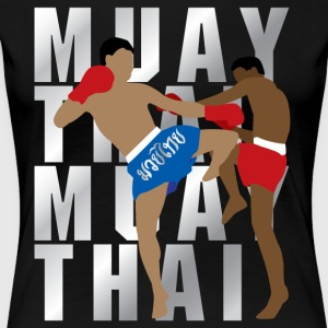 MUAY THAI - Women's Premium T-Shirt