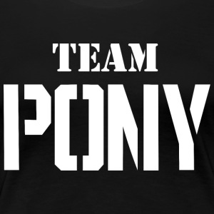 Team-pony - Women's Premium T-Shirt