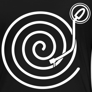 Turntable spiral - Women's Premium T-Shirt