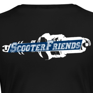 scooter Friends - Vrouwen Premium T-shirt