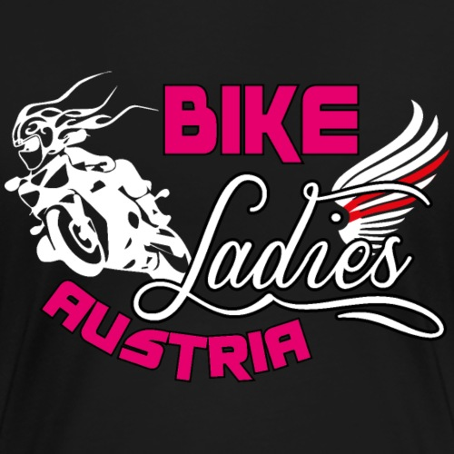 1BikeLadiesLogo white - Frauen Premium T-Shirt