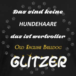 Old English Bulldog Glitzer - Frauen Premium T-Shirt