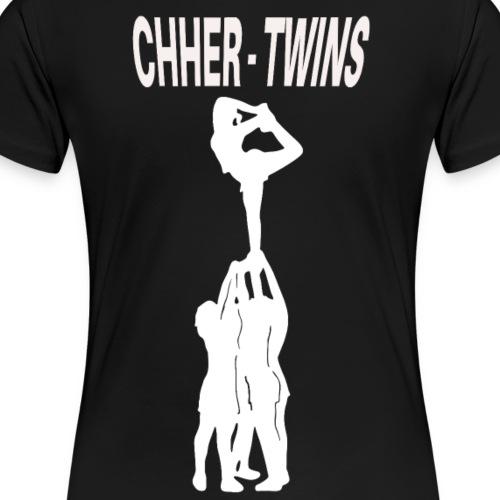 Cheer Twins Maedchen - Frauen Premium T-Shirt
