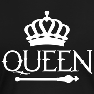 Queen Königin Prinzessin - Frauen Premium T-Shirt