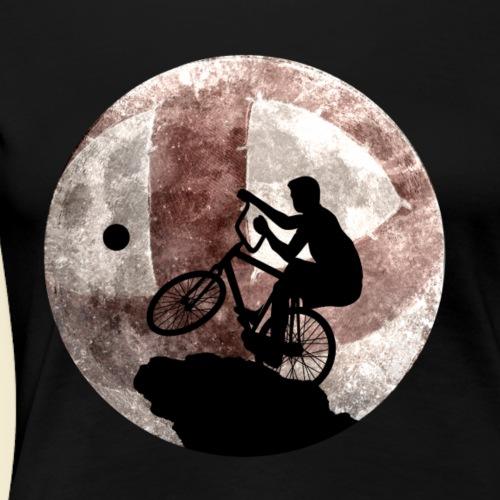 Radball   Cycle Ball Moon - Frauen Premium T-Shirt