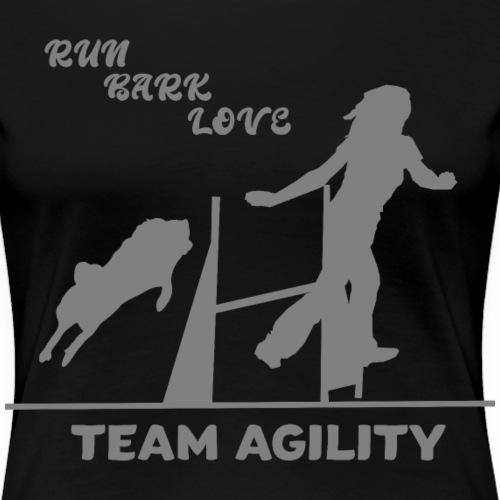 Agility fitte Hunde sportliche Frauchen