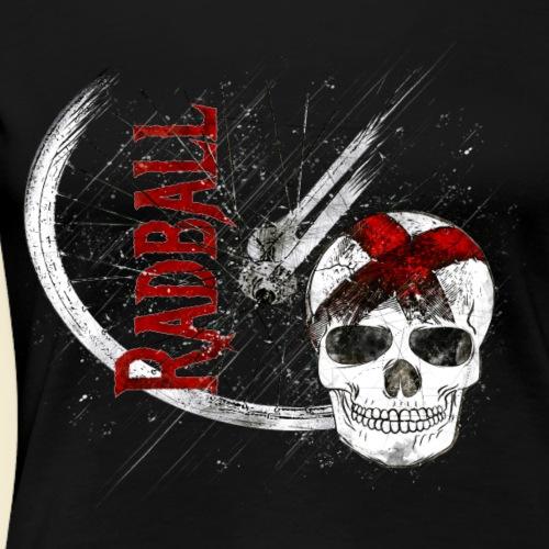 Radball | Cycle Ball Skull - Frauen Premium T-Shirt