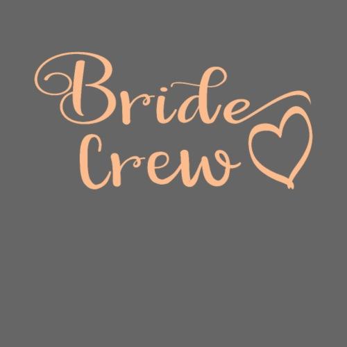 JGA Gruppenshirt Bride Crew Braut