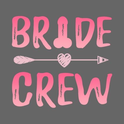 JGA Gruppenshirt Bride Crew Braut Penis