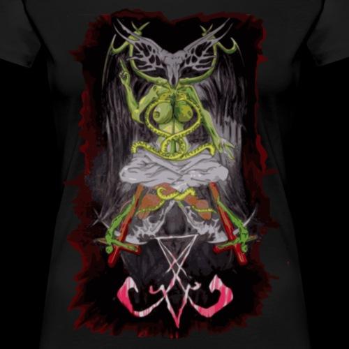 Baphomet NEKRO H - Frauen Premium T-Shirt