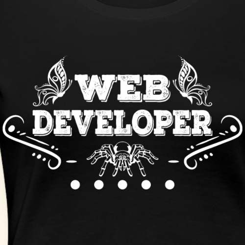 Web Developer Spinne - Frauen Premium T-Shirt