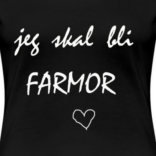 Farmor Collection - Premium T-skjorte for kvinner
