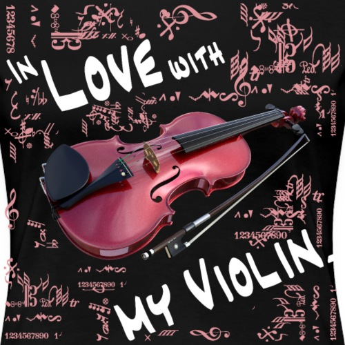 In Love With My Violin - Frauen Premium T-Shirt