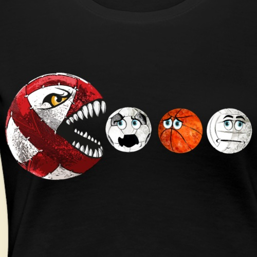Radball   Cycle Ball RedMan - Frauen Premium T-Shirt
