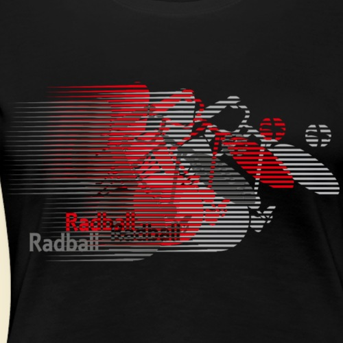 Radball | Earthquake Red - Frauen Premium T-Shirt