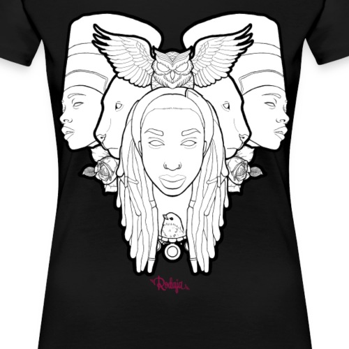 Rodaja Nefertiti - Camiseta premium mujer