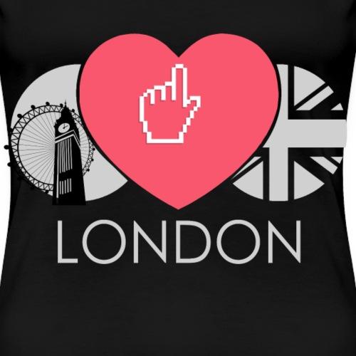 Ich Liebe London England Groß Britannien - Frauen Premium T-Shirt