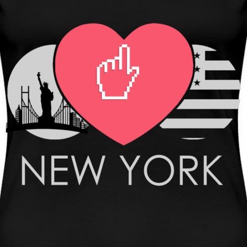 Ich Liebe New York USA Amerika - Frauen Premium T-Shirt