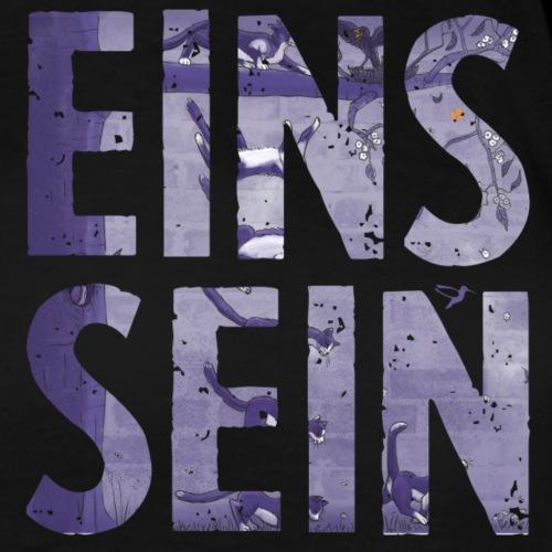 EINS SEIN - Katze - Frauen Premium T-Shirt