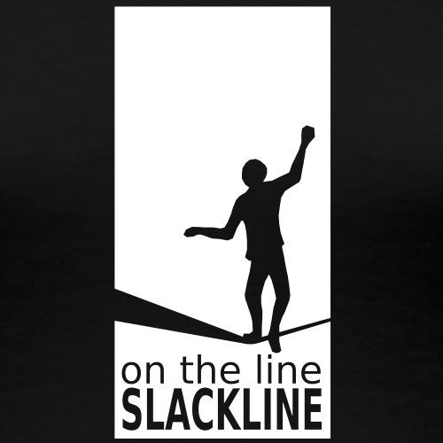 slackline - Frauen Premium T-Shirt