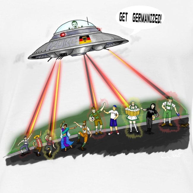 UFO Germanizer Ray