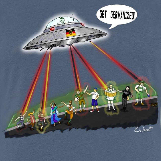UFO Germanizer Ray