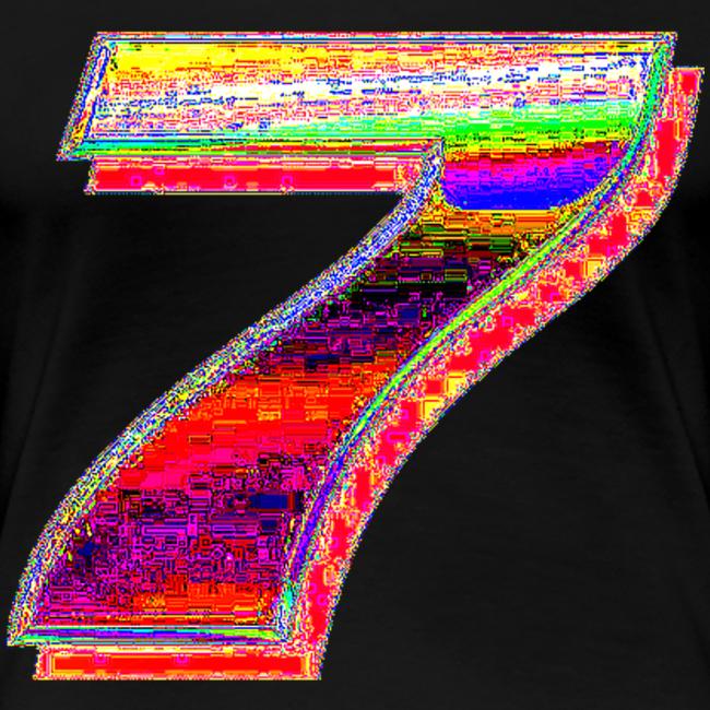 Deep Fried 7 (Meme) | Frauen Premium T-Shirt