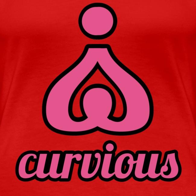 '' CURVIOUS '' PINK / BLACK