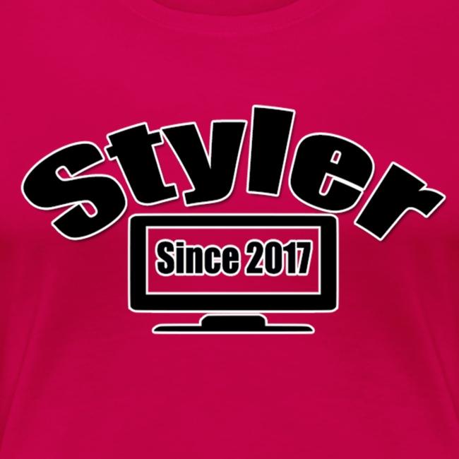Styler Design T-Shirt Vrouwen