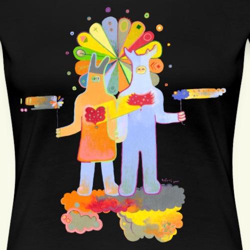 Fortune of love - Women's Premium T-Shirt