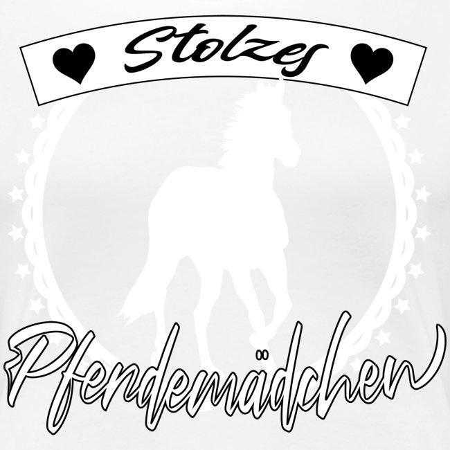 Stolzes Pferdemädchen Pferde Reiten Geschenkidee