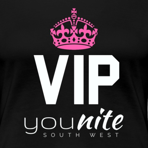 YouNite VIP White - Women's Premium T-Shirt