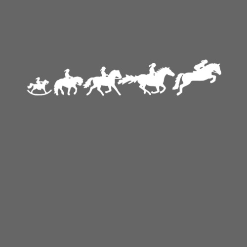 Evolution Reiten - Frauen Premium T-Shirt