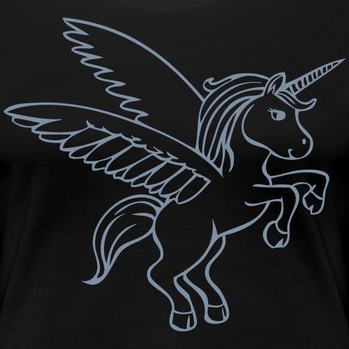 Licorne Unicorn - T-shirt Premium Femme