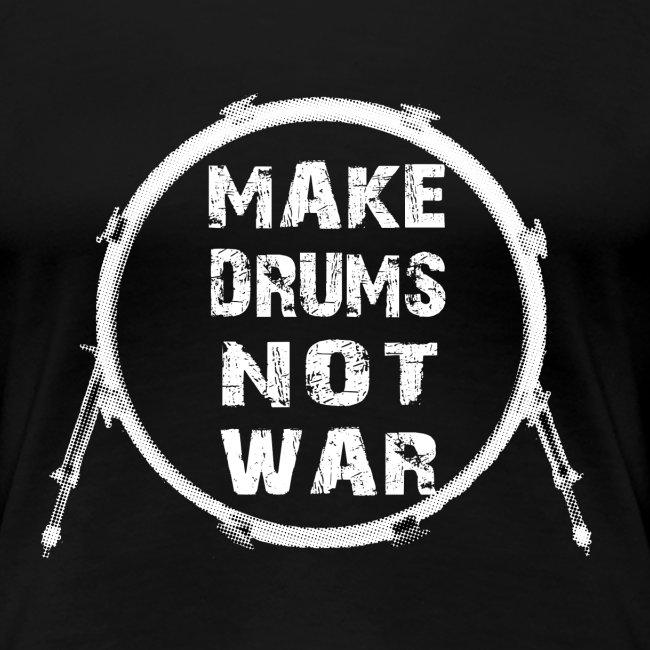 Make drums not war - idee cadeau batterie