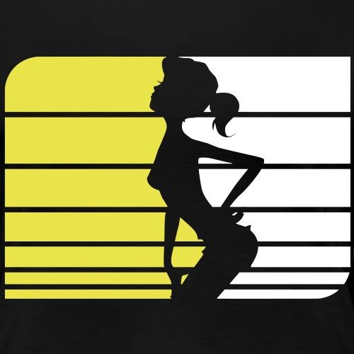 peep1 - Frauen Premium T-Shirt