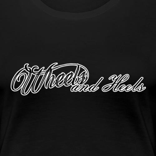 Tekstilogo - Naisten premium t-paita
