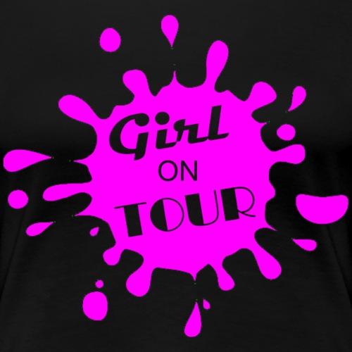 Girls On Tour - PINK - Women's Premium T-Shirt
