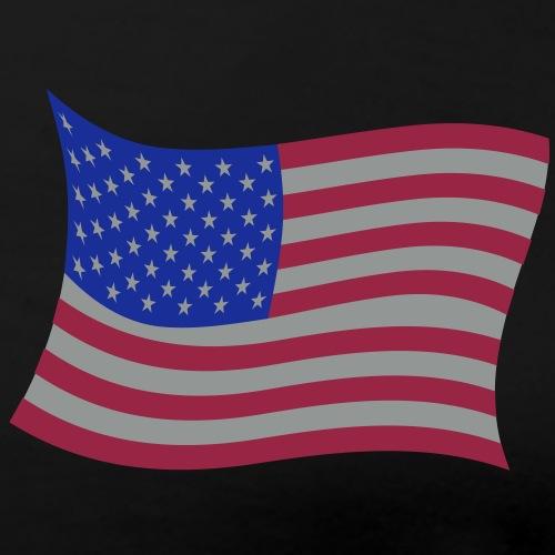 drapeau usa 4 Tee shirts manches longues - T-shirt Premium Femme