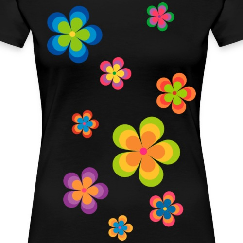limited edition 03 flowerpower - Frauen Premium T-Shirt