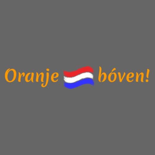 Oranje boven met driekleur - Vrouwen Premium T-shirt