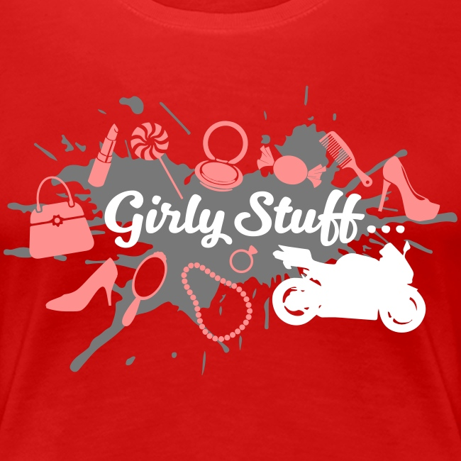 Girly Stuff - Motorcycle included
