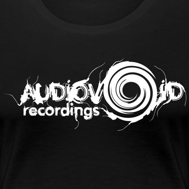AudioVoid White Logo