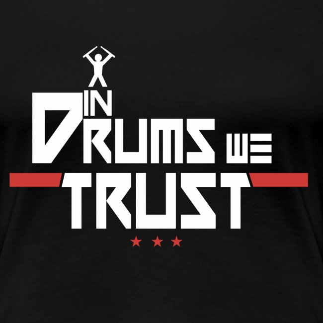 In drums we trust - idee cadeau batteur